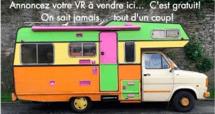 Annoncez votre VR à vendre