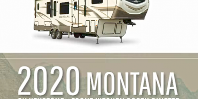 Montana 2020 avec cuisine avant...