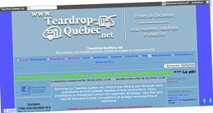 Teardrop-Québec