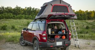 Ford Bronco de camping...