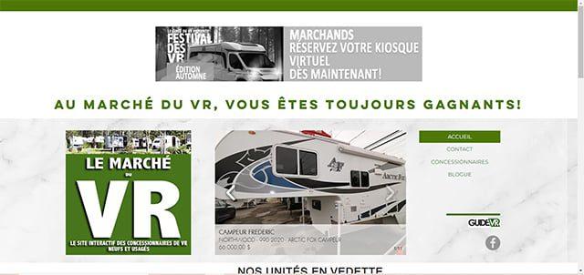 Marché du VR